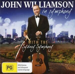 JOHN WILLIAMSON In Symphony CD & DVD with the Sydney Symphony
