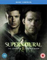 Supernatural: The Complete Eleventh Season Blu-Ray (2016) Jared Padalecki cert