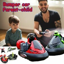 High Speed Set of 2 Bumper Stunt Cars Remote Control RC Battle Toys VS Model US