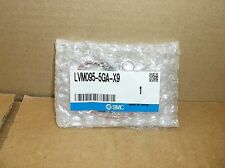 LVM095-5GA-X9 SMC NEW In Box Chemical Solenoid Valve LVM0955GAX9