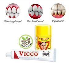 vicco Vajradanti Ayurvedic Herbal Toothpaste 200g & Powder 100g Gums Teeth Care!