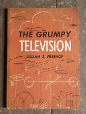 The Grumpy Television ~ Lillian S Freehof ~ Vintage 1951 Sc ~ Hanukkah Story