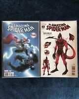 Amazing Spider-Man #797 - Crain Variant - Incentive Variant - Venom - Red Goblin