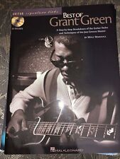 Best of Grant Green Step by Step Breakdown Of Guitar Styles & Techniques W/Cd