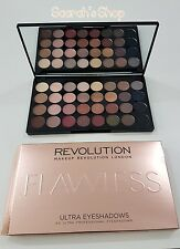 MAKEUP REVOLUTION 32 tonos 16g Paleta de sombras nude y NATURAL IMPECABLE
