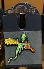 Universal Studios How To Train Your Dragon Green Dragon Pin New on Card