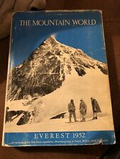 The Mountain World: Everest 1952 Vintage Mountaineering Book 1953 Harpers Magaz