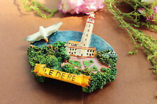 ILE DE RE, France Tourist Travel Souvenir 3D Resin Fridge Magnet Craft