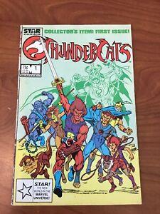 Thundercats #1 Star Marvel Comics 1985 3rd print VG