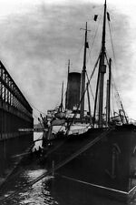 New 5x7 Photo: SS CARPATHIA at Dock in New York City after TITANIC, 1912