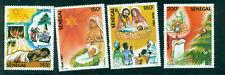 Senegal 1987 Christmas drawings 4 values  MNH