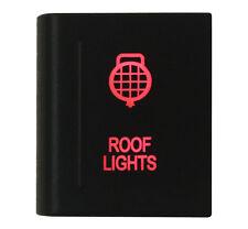 ROOF LIGHTS On-off Push Switch RED Led for VM Amarok Switch Left Side 12V 3A