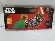 New - Star Wars The Force Awakens Pinball Machine Tabletop