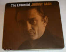 THE ESSENTIAL JOHNNY CASH  COFFRET BOITIER METAL  2 CD  36 TITRES