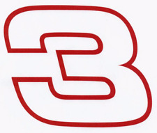 DALE EARNHARDT Sr #3 Decal 14 x 12 racing nascar 012