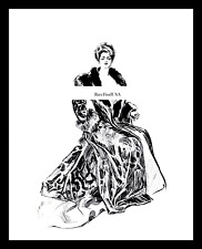 1905-rpt GIBSON GIRL Mrs Charles Dana Gibson Irene Langhorne Caricature MATTED