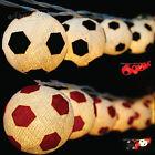 Aladin Soccer Football Cotton Balls String Fairy Kid's Room Night Lights Deco AU