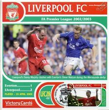 Liverpool 2002-03 Everton (Danny Murphy) Football Stamp Victory Card #228