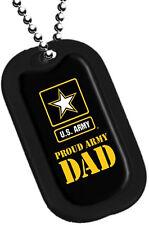 Proud Army DAD Dog Tag / Key Chain 2765