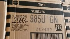 Hot Wheels Basic Die Cast 1:64 Case 72 Cars