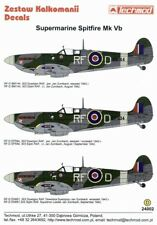 Techmod decals 1/24 Supermarine Spitfire Mk. Vb Jan Zumbach # 24002/*