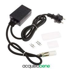 Controller alimentatore giochi di luce per tubo luminoso led fino a 50 mt 13mm
