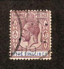 Bahamas--#55 Used--1912 King George V