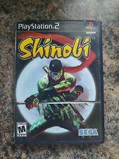 Shinobi PS2 Complete (Sony PlayStation 2, 2002) -