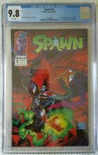 SPAWN #1 CGC 9.8 1ST APPEARANCE OF SPAWN TODD MCFARLANE