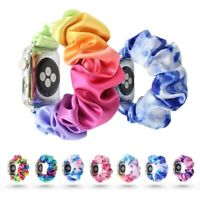 Scrunchie Fabric Loop Band Strap For Apple Watch iWatch Series 6/5/4/3/2/1 HOT