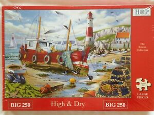 Brand New House of Puzzles BIG250 Large Piece Jigsaw Puzzle - HIGH & DRY