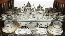 "ROYAL ALBERT ""Trillium"" Tè Set e vasellame-INGLESE BONE CHINA"