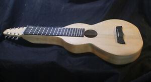 Weissenborn Style 8 String Acoustic Lap Steel Guitar, Maple Body