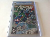 AVENGERS 334 CGC 9.8 WHITE PGS COLLECTOR WATCHER INHUMANS MARVEL COMICS
