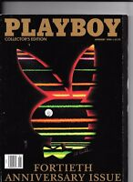 Back Issue January 1994 Playboy Magazine ~ 40th Anniversary Issue ~ FINE