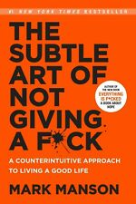 The Subtle Art of Not Giving a F*Ck: Paperback Book Free Shipping Worldwide