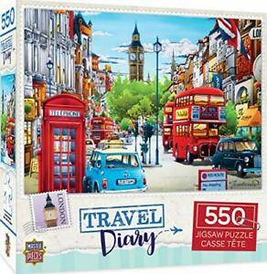 MasterPieces Travel Diary - London 550pc Puzzle