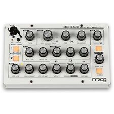 Moog Minitaur Bass Synthesizer with Custom Finish White
