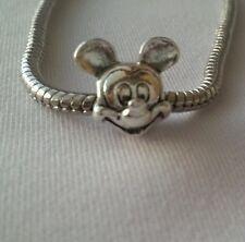 Pandora Disney Mickey Mouse s925 Ale Sterling Dangle Charm Bead #791586 European