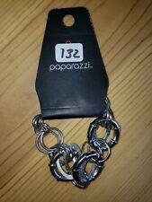 Paparazzi Bracelet(new) SILVER LINKS 132