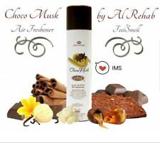 Choco Musk air freshener by Al Rehab 300ML sweet milk-chocolate,vanilla-cinnamon