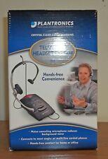 NEW Plantronics Telephone Headset System S11 Free Shipping