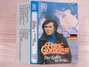MC / PETER CORNELIUS-DER KAFFE IS FERT /  RARITÄT / AUSTRIA /  JAPAN PRESSUNG /