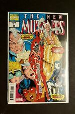 New Mutants #98 First Appearance of Deadpool, Gideon & Domino