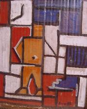 1947 LINCOLN PRESNO (1917-91) CONSTRUCTIVIST O/B Student of JOAQUIN T. GARCIA