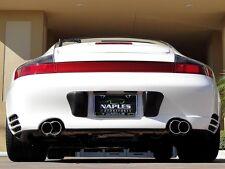 Echappement Acier Affiné Porsche 911 996 Turbo Carrera 4S