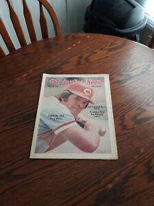 MAY 20,1978-THE SPORTING NEWS-PETE ROSE OF THE CINCINNATI REDS(NM)