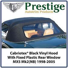 Mazda MX5 MX-5 Eunos MK2 NB Car Hood Hoods Soft Top Roof Roofs New 1998-2005