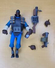 "NECA Team Fortress 2 BLU The Demoman Action Figure, 7"" with accessories - RARE"