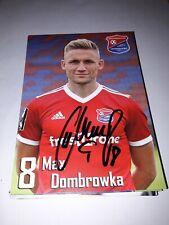 Signierte AK Max Dombrowka SpVgg Unterhaching   NEU
